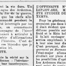 Article extrait de La Wallonie (mars 1946)