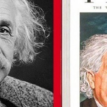 Time, the weekly news magasine, E=mc² (ironie)