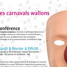 'Carnival in Wallonia' (lecture)