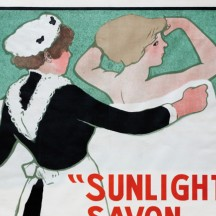 Advertisement for 'Sunlight soap'