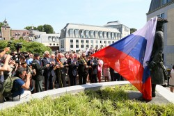 Inauguration de la statue Pierre le Grand