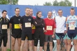 "Nos aspirants au challenge ""Running For Solidarity"""