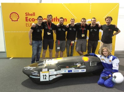 « Shell Eco-Marathon » de Londres: belle performance pour EcoMOTION!