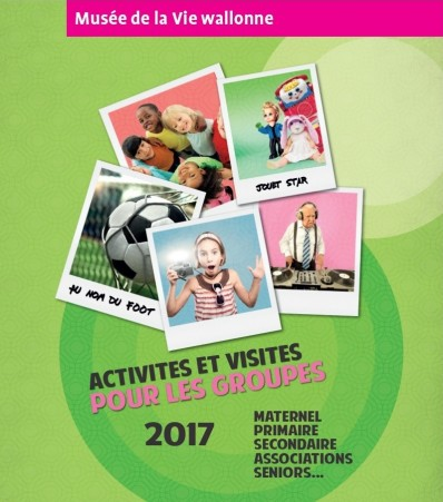 Visuel promotionnel brochures groupes 2017