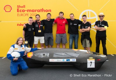 EcoMOTION au Shell Eco Marathon de Londres