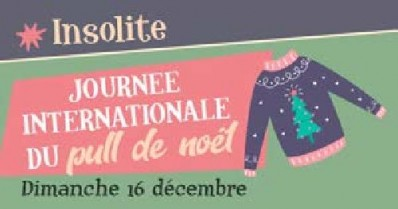 Journée Internationale du Pull de Noël
