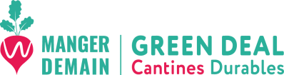 Logo Green deal -  Cantines durables