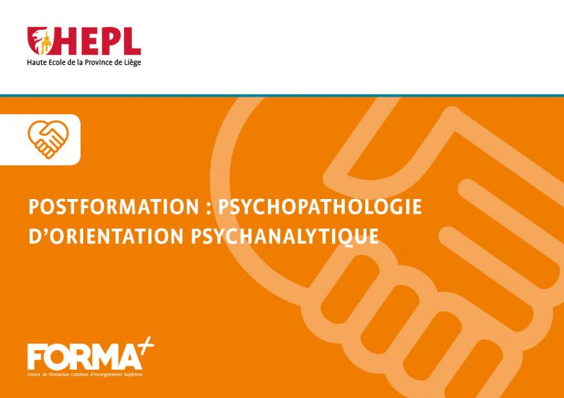 Post-formation en psychopathologie d'orientation psychanalytique