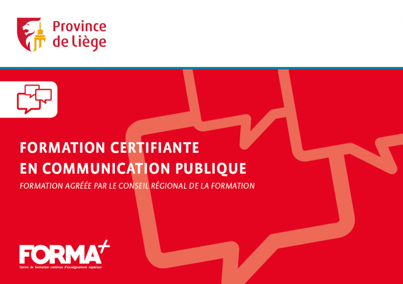 Formation certifiante en communication publique