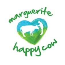 Marguerite Happy Cow logo