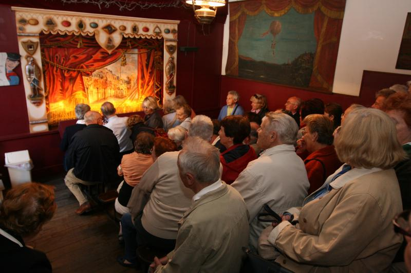 Puppet Theatre performance