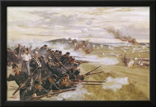 'The defense of Liège'  by W.B. Wollen, R.I.