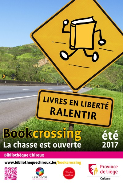 Bookcrossing - été 2017