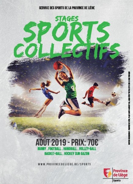 Stages sports collectifs été 2019