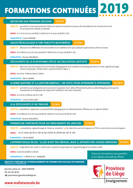 Formations continuées