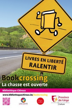 affiche Bookcrossing