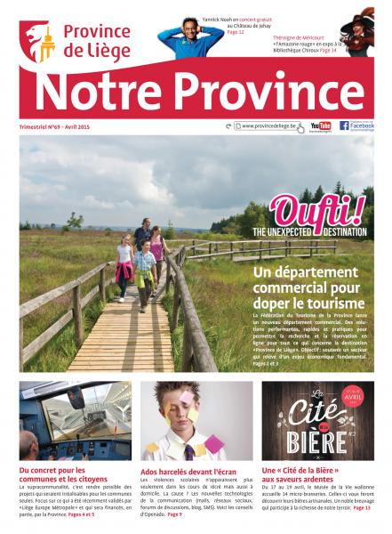 Notre Province N°69 - Avril 2015