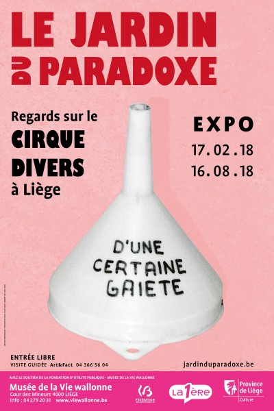 Original poster of the exhibition, 2018