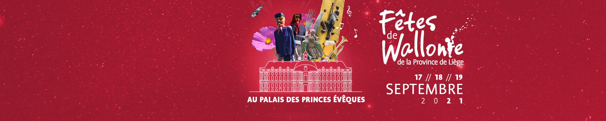 Les Fêtes de Wallonie de la Province de Liège sont de retour du vendredi 17 au dimanche 19 septembre