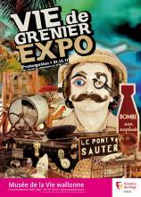Affiche de l'expo 'Vie de grenier'