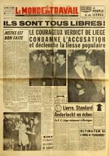 Le Monde du Travail 12/11/1962