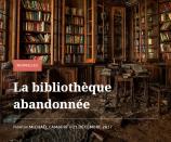 La bibliothèque abandonnée - Michaël Lambert