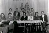 La Commission féminine du Rassemblement wallon réunie à Morlanwez en 1972