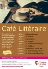 Café littéraire à la bibliothèque Chiroux
