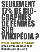Pour contrer cette tendance lourde, la bibliothèque Chiroux organise un nouvel edit-a-thon féministe le 9 mars prochain