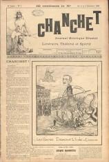 Chanchèt : journal satirique illustré, théâtral et sportif, Liège, impr. Thone, 1899-1900
