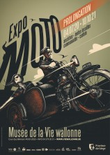 Affiche promotionnelle Expo MOTO