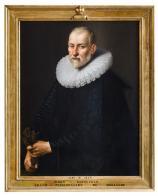Portrait présumé de Barnevelt le vieux - Province de Liège - Collections du Château de Jehay ©