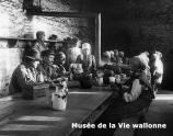 Réfectoire Horloz/ Archives du Musée de la Vie wallonne