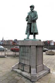 Statue du Général Bertrand en Outremeuse (Liège