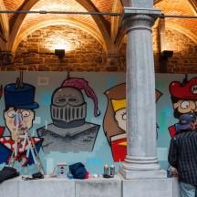 Fresque Super Marionnettes