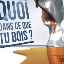 Affiche de prévention des boissons énergisantes