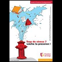 Affiche de prévention sur le stress