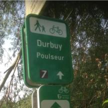 Panneau point-nœud Durbuy - Poulseur