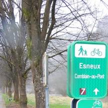 Panneau point-nœud Esneux - Comblain-au-Pont