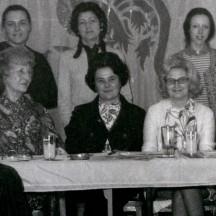 La Commission féminine du Rassemblement wallon à Morlanwez