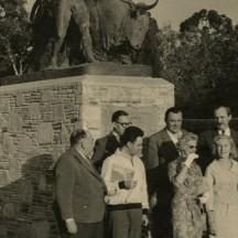 En tournée au Congo alors belge (1958).