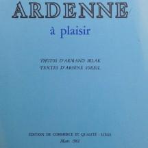 « Ardenne à plaisir » d'Arsène Soreil