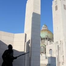 cérémonie militaire fixée au Monument Interallié de Cointe