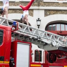 Equipe de gymnastique des pompiers de Paris