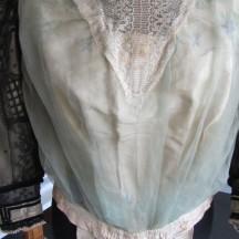 Remontage du corsage après consolidation de la jupe