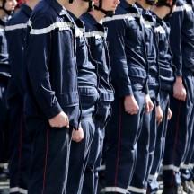 Cadets de l'Ecole du Feu