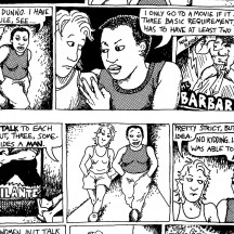 The Rule / Alison Bechdel