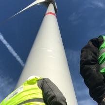 Conseil provincial de Liège: au cœur d'un parc éolien pour une j