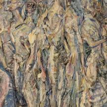 Émile Alexandre, Aurore, huile sur toile, 1968