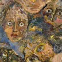 Émile Alexandre, Le songe II, huile sur toile, 1964
